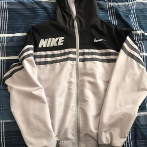 Nike reversible hoodie/windbreaker